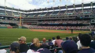 Progressive Field, section: 171, row: E, seat: 10
