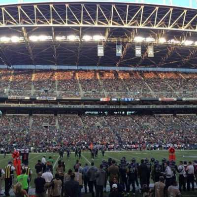 CenturyLink Field section CHR 137