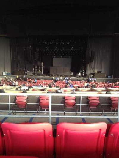 White River Amphitheatre, section: 205, row: 3, seat: 10