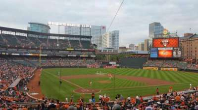 Oriole Park at Camden Yards, section: 33, row: 6, seat: 4
