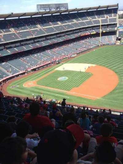 Angel Stadium, section: V530, row: M, seat: 22