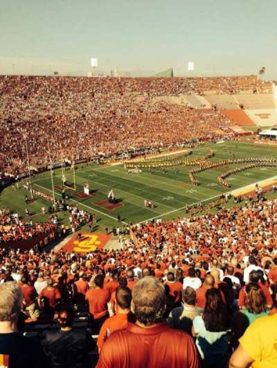Los Angeles Memorial Coliseum section 11