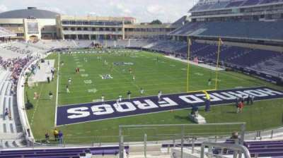 Amon G. Carter Stadium, section: 224, row: L, seat: 1