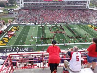 Maryland Stadium, section: 305, row: H, seat: 3,2,4