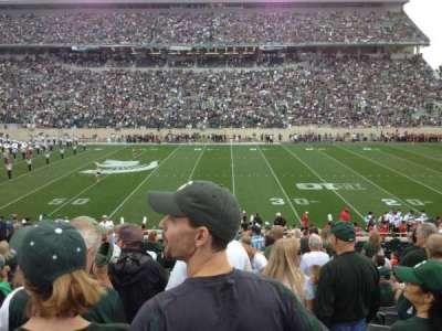 Spartan Stadium section 8