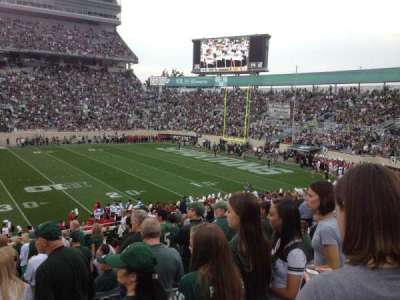 Spartan Stadium, section: 8, row: 29, seat: 8