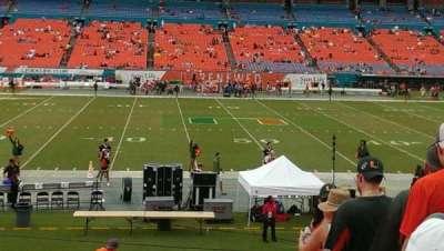 Hard Rock Stadium section 115