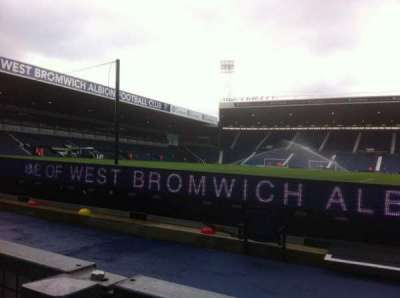 The Hawthorns, section: Smethwick End, row: D, seat: 24