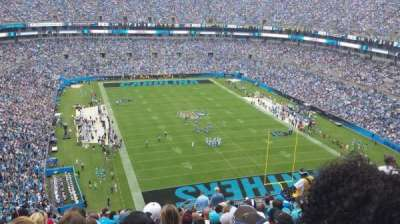 Bank of America Stadium, section: 531, row: 19, seat: 7