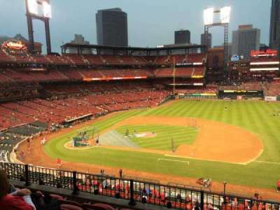 Busch Stadium section 242