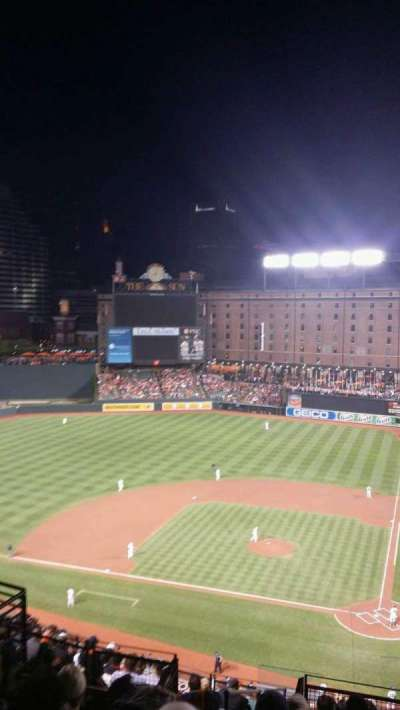 Oriole Park at Camden Yards section 346