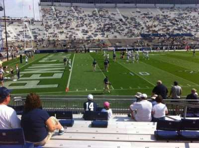 Beaver Stadium, section: WJ, row: Q, seat: 21