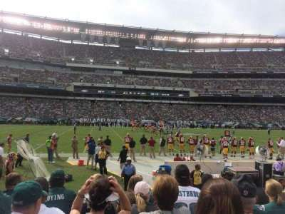 Lincoln Financial Field, section: 119, row: 5, seat: 22