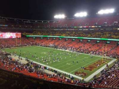 FedEx Field, section: 337, row: 14, seat: 11