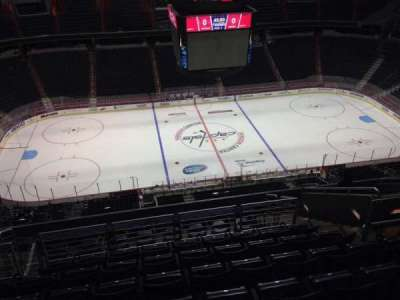 Verizon Center, section: 433, row: M, seat: 9