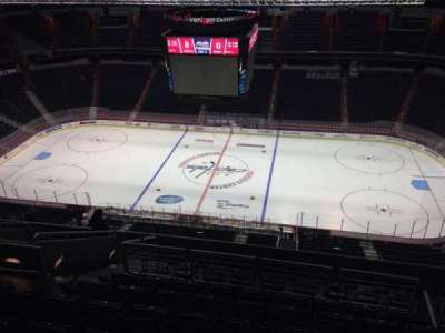 Capital One Arena, section: 401, row: M, seat: 9