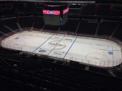 Verizon Center, section: 402, row: M, seat: 9