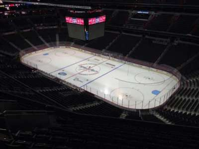 Verizon Center, section: 404, row: M, seat: 11