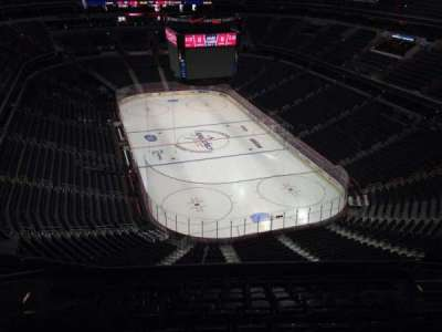 Verizon Center, section: 407, row: M, seat: 10