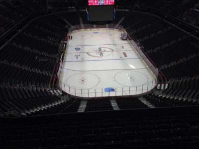 Verizon Center, section: 408, row: J, seat: 11
