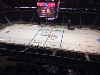 Verizon Center, section: 418, row: H, seat: 9