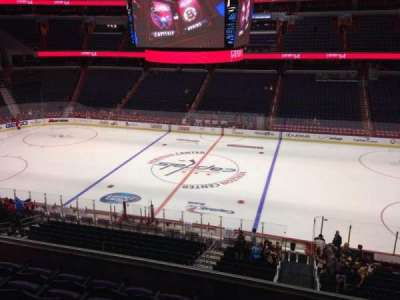 Verizon Center, section: 201, row: F, seat: 9