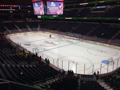 Verizon Center, section: 205, row: D, seat: 3