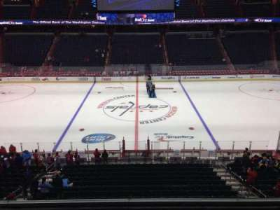 Verizon Center, section: 200, row: D, seat: 9