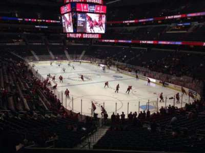 Verizon Center, section: 115, row: Y, seat: 5