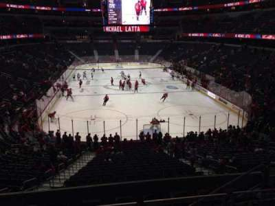 Verizon Center, section: 116, row: Y, seat: 5
