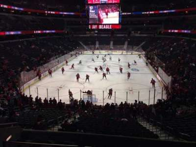 Verizon Center, section: 117, row: Y, seat: 5