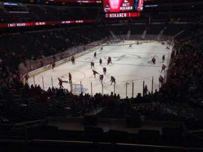 Verizon Center, section: 118, row: Y, seat: 4
