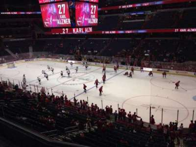 Verizon Center, section: 218, row: D, seat: 7