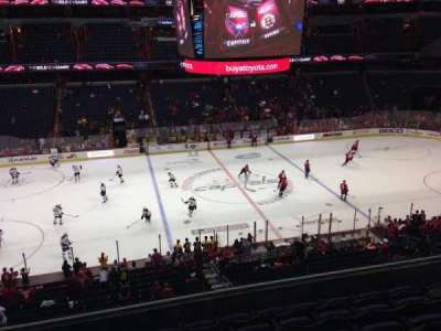 Verizon Center, section: 214, row: G, seat: 8