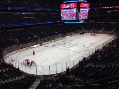 Verizon Center, section: 210, row: H, seat: 5
