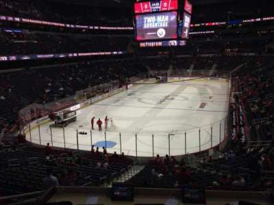 Verizon Center, section: 107, row: X, seat: 4