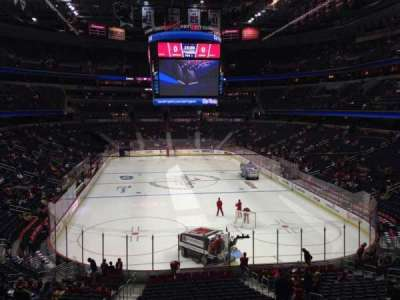 Capital One Arena, section: 105, row: X, seat: 4