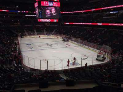 Verizon Center, section: 104, row: Y, seat: 18