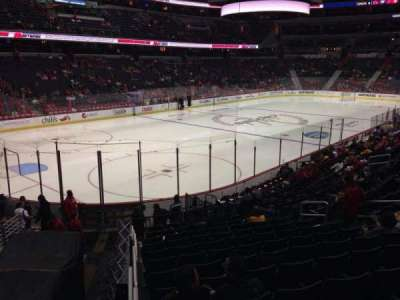 Verizon Center, section: 119, row: R, seat: 11