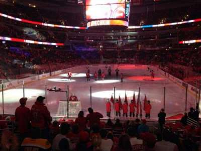 Verizon Center, section: 118, row: O, seat: 9