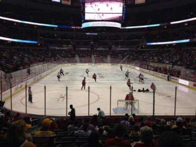 Verizon Center, section: 116, row: P, seat: 7