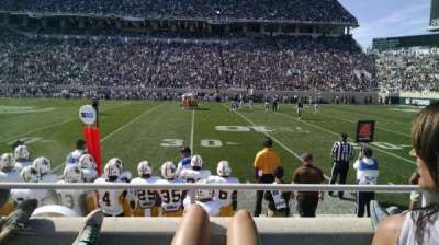 Spartan Stadium, section: k, row: 5, seat: 30