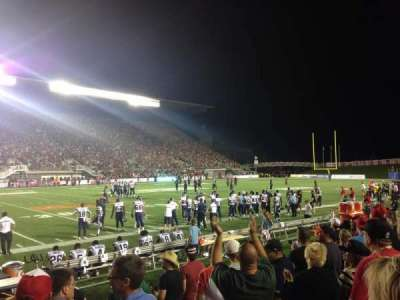 TD Place Stadium, section: V, row: 7, seat: 3