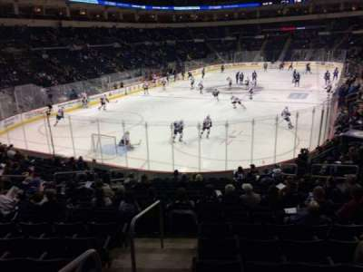 MTS Centre, section: 111, row: 16, seat: 13