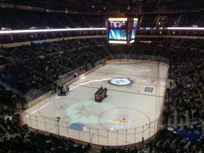 MTS Centre, section: 311, row: 1, seat: 1