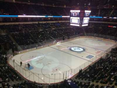 MTS Centre, section: 310, row: 1, seat: 6