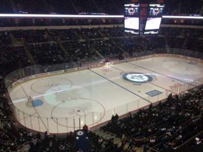 MTS Centre, section: 309, row: 1, seat: 5