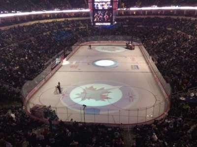 MTS Centre, section: 313, row: 1, seat: 1