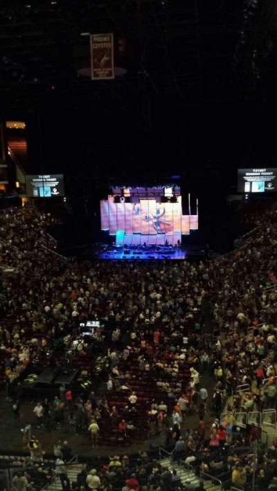 Gila River Arena, section: 222, row: C, seat: 2