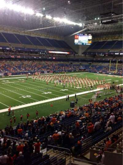 Alamodome, section: 217, row: 1, seat: 16